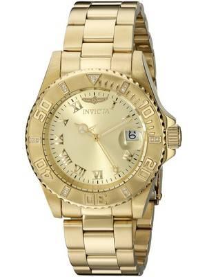 Invicta Pro Diver Diamond Accented Bezel Quartz 12820 Men's Watch