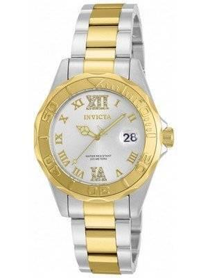 Invicta Pro Diver Quartz Crystal Accent 12852 Women's Watch