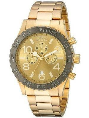 Invicta Specialty Chronograph Gold Tone 15160 Men's Watch