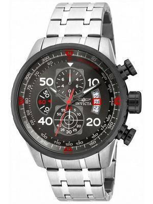 Invicta Aviator Chronograph Gunmetal 17204 Men's Watch