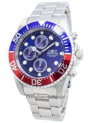 Invicta Pro Diver Chronograph 200M Blue Dial 1771 Men's Watch