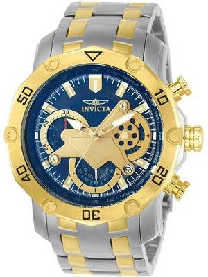 Invicta Pro Diver Chronograph Tachymeter Quartz 22762 Men's Watch
