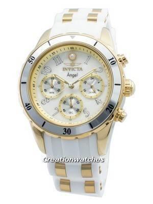 Relógio Invicta Angel 24901, de mulher, cronógrafo de quartzo