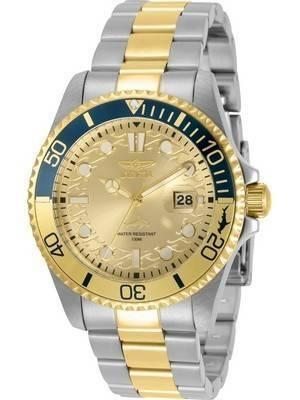 Invicta Pro Diver Gold Tone Dial Quartz 30948 100M Men\'s Watch