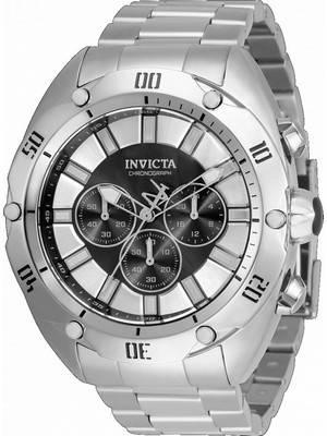 Invicta Venom Chronograph Black Dial Quartz 33750 100M Men\'s Watch