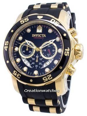 Invicta Pro Diver Chronograph Quartz 100M 6981 Men's Watch