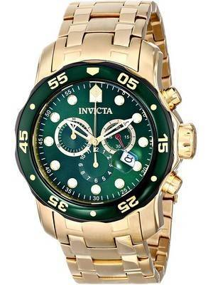 Invicta Pro Diver 80072 Chronograph Quartz 200M Men\'s Watch