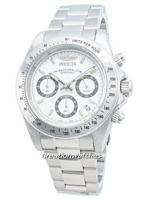 Invicta Speedway 200M Chronograph White Dial 9211 Men's Watch