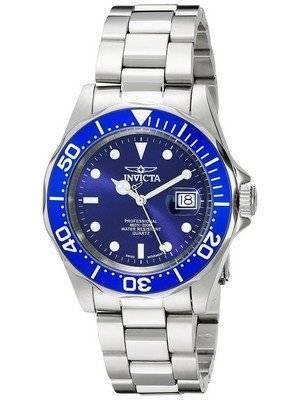 Invicta Swiss Pro Diver 200M Blue Dial 9308 Men's Watch