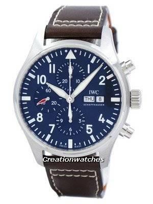 "IWC Pilot's ""LE PETIT PRINCE"" Edition Chronograph Automatic IW377714 Men's Watch"