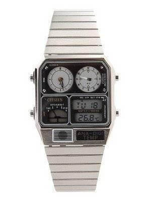 Citizen Ana-digi Thermometer Digital Dual Time JG2000-59F JG2000