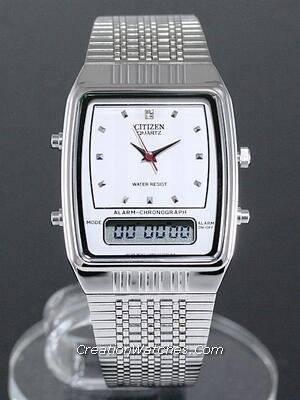 Citizen Ana-digi Vintage Retro JM0520-59A JM0520