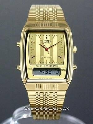 Citizen Ana-digi Vintage Retro JM0522-53P JM0522