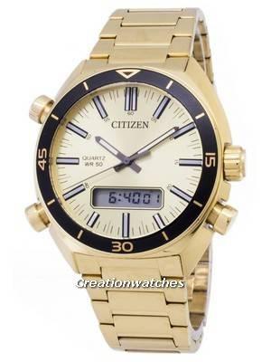 Citizen Quartz JM5462-56P Analog Digital Men's Watch