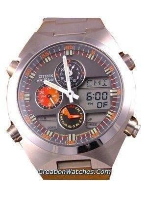 Citizen Navihawk Chronograph Worldtime Steel JN0110-54H
