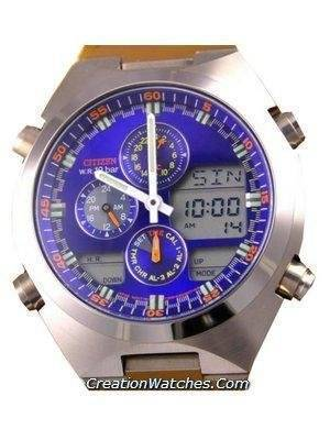 Citizen Navihawk Chronograph Worldtime Steel JN0110-54L