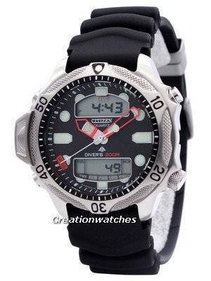 Citizen Aqualand Diver Depth Meter Promaster JP1010-00E JP1010 Men's Watch