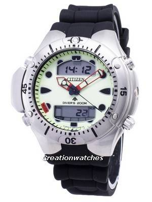 Citizen Aqualand Diver Depth Meter Promaster JP1060-01W JP1060