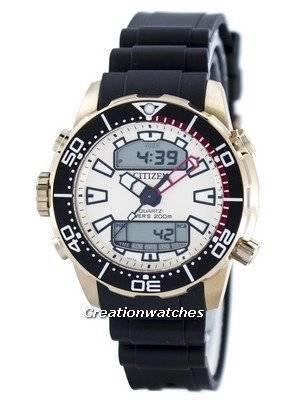 Citizen Aqualand Promaster Diver\'s 200M Analog Digital JP1093-11P Men\'s Watch