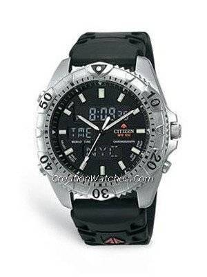 Citizen Promaster Wingman World Time JQ8010-13E Mens watch