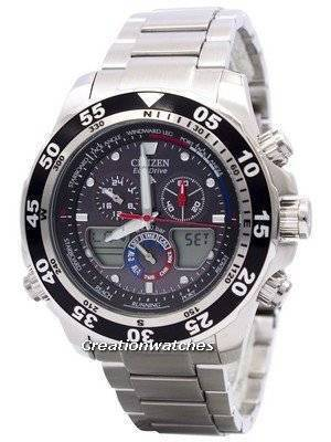 Citizen Promaster Chronograph JR4045-57E JR4045 World Time Men's Watch