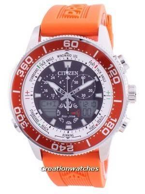 Relógio masculino Citizen Promaster Marine Yacht Eco-Drive JR4061-18E 200M