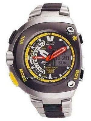 Citizen Diver Titanium Promaster Cyber Aqualand Watch JV0055-51E