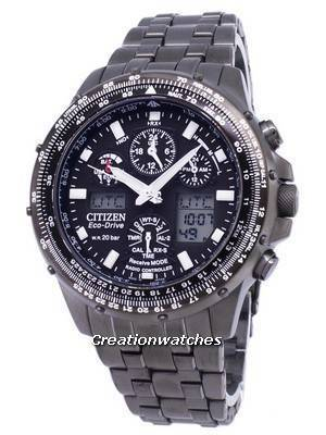 Citizen Promaster Eco-Drive Power Reserve Radio Controlled 200M JY0039-58E Men's Watch