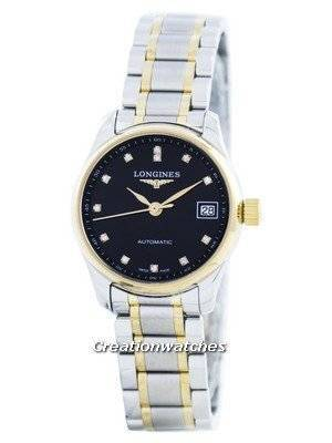 Longines Master Collection Automatic Diamond Accent L2.128.5.57.7 Women's Watch