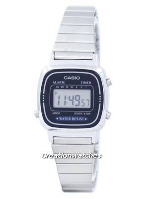 Casio Alarm Digital LA-670WA-2D LA670WA-2D Women's Watch