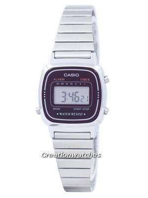 Casio Alarm Digital LA-670WA-4D LA670WA-4D Women's Watch