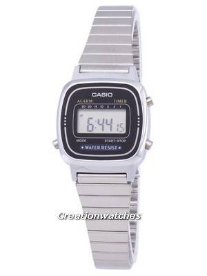 Casio Digital Classic Alarm Timer LA670WA-1DF LA670WA-1 Women's Watch