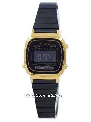 Relogio Casio Vintage Alarme Digital LA670WEGB-1B Mulher