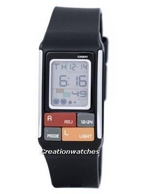 Casio Poptone Dual Time Digital LDF-50-1D LDF50-1D Women's Watch