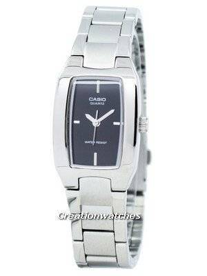 Casio Enticer Analog Black Dial LTP-1165A-1CDF LTP-1165A-1C Women's Watch