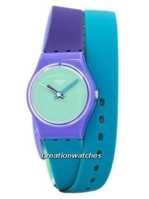 Swatch Originals Fun In Blue Quartz LV117 Women's Watch