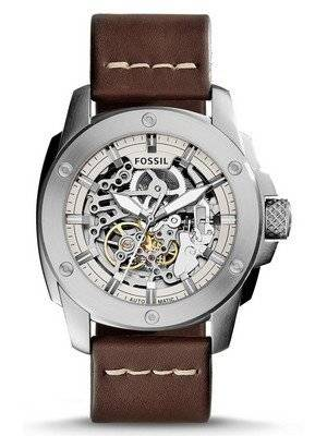Fossil Modern Machine Automatic Skeleton Dial ME3083 Men\'s Watch