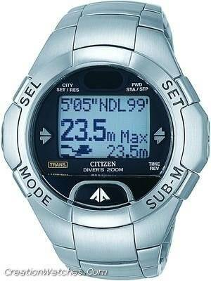 Citizen Diver Promaster Cyber Aqualand MG0000-58E.