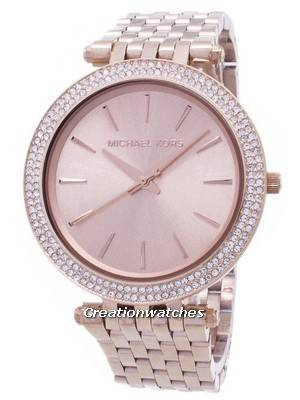Michael Kors Darci Crystal Embellished Bezel MK3192 Women's Watch