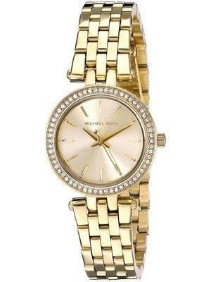 Michael Kors Mini Darci Swarovski Crystals Gold Tone MK3295 Women\'s Watch
