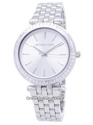 Michael Kors Petite Darci Silver Dial Stainless Steel MK3364 Women's Watch