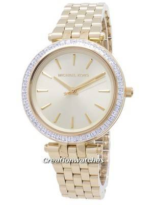 Michael Kors Mini Darci Crystals Gold Tone MK3365 Women\'s Watch