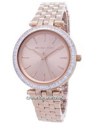 Michael Kors Mini Darci Crystals Rose Gold Tone MK3366 Women's Watch