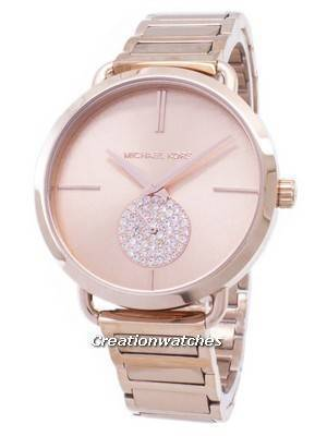 Michael Kors Portia Diamond Accent Quartz MK3640 Women's Watch