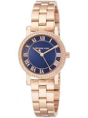 Michael Kors Petite Norie Quartz Diamond Accent MK3732 Women's Watch