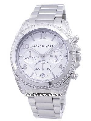 Michael Kors Chronograph Crystal MK5165 Women's Watch