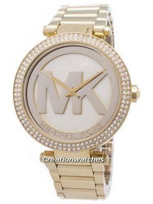 Michael Kors Parker Crystals MK Logo MK5784 Women's Watch
