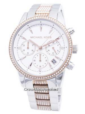 Michael Kors Ritz MK6651 Chronograph Diamond Accents Women's Watch