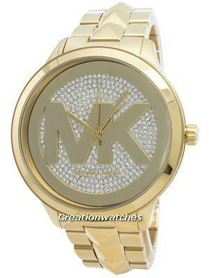 Michael Kors Runway Mercer MK6714 Diamond Accents Quartz Women's Watch