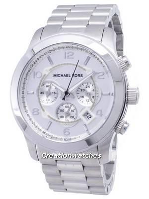 Michael Kors Silver Runway MK8086 Men's Watch